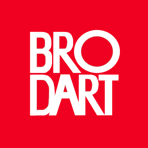 Brodart red icon
