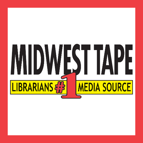 Midwest Tape icon. Text: Librarians' #1 Media Source
