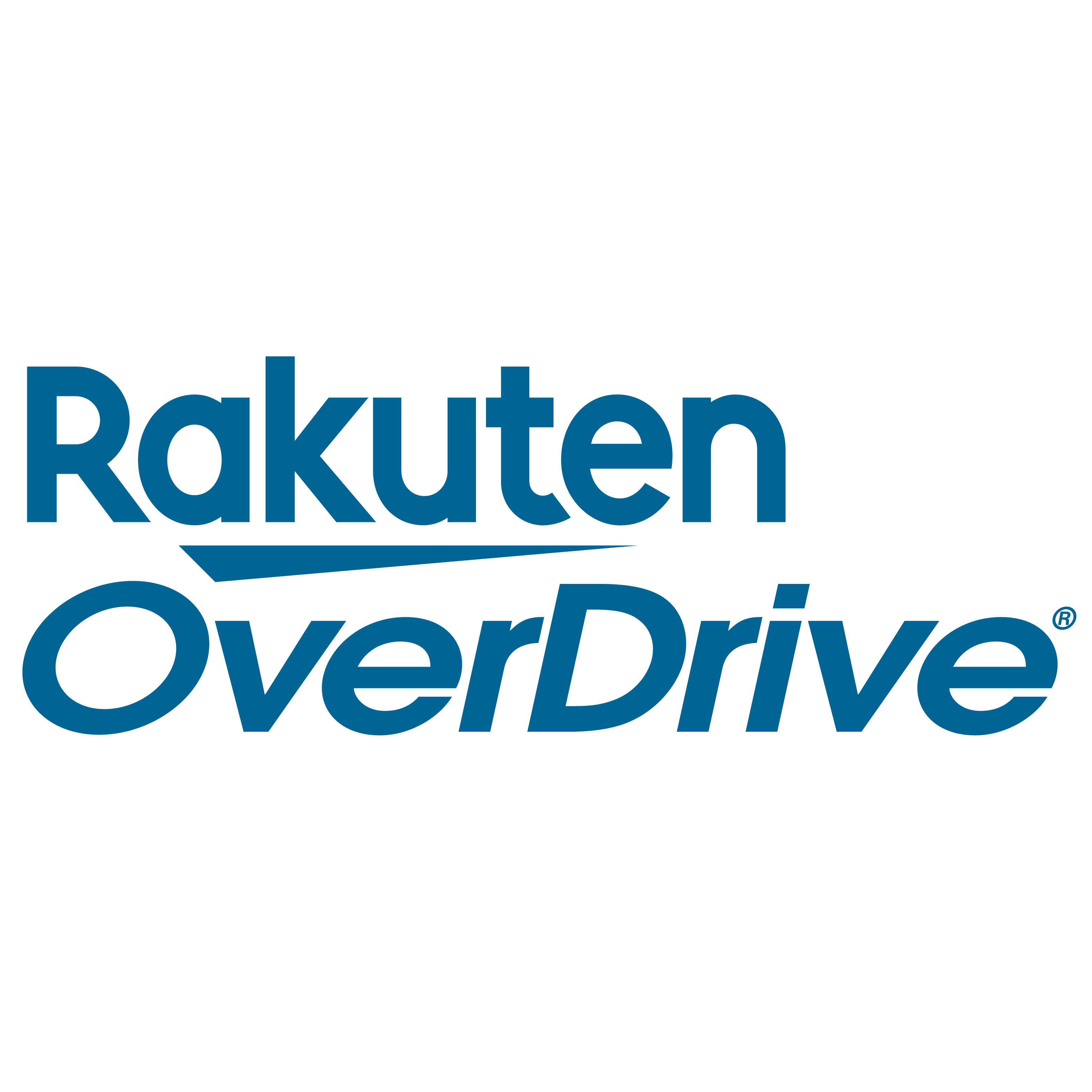 Logo for Rakuten Overdrive - Diamond Sponsor